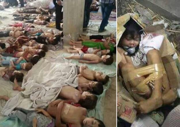 700 children dead bodies