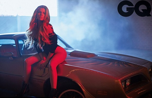 Khloe Kardashian GQ photoshoot