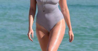 Daisy Lowe Miami Bikini