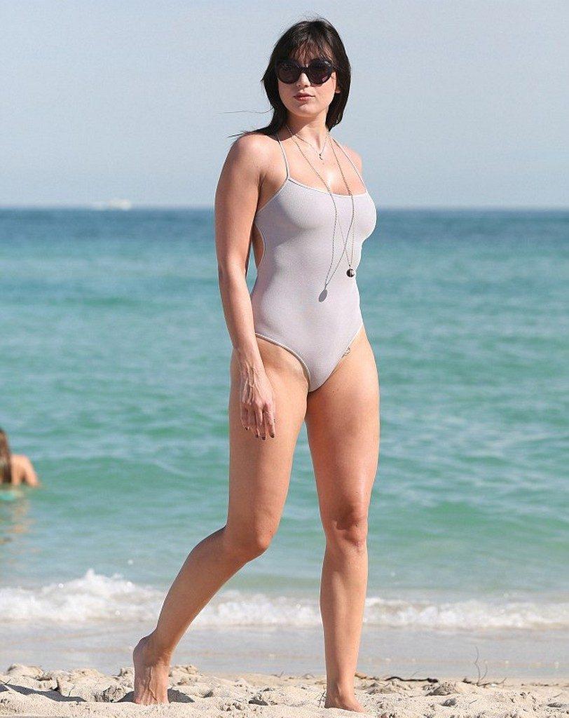 Daisy Lowe Bikini Tattoo