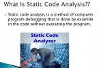 What is Static Code Analysis?