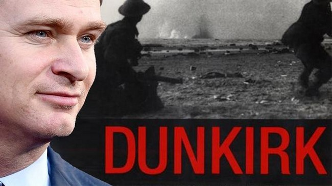 Christopher Nolan Dunkirk Movie