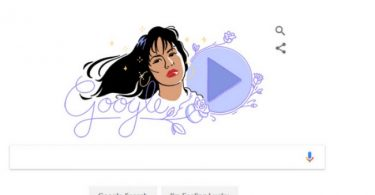 Latest Doodle by Google showcases famous singer Selena Quintanilla