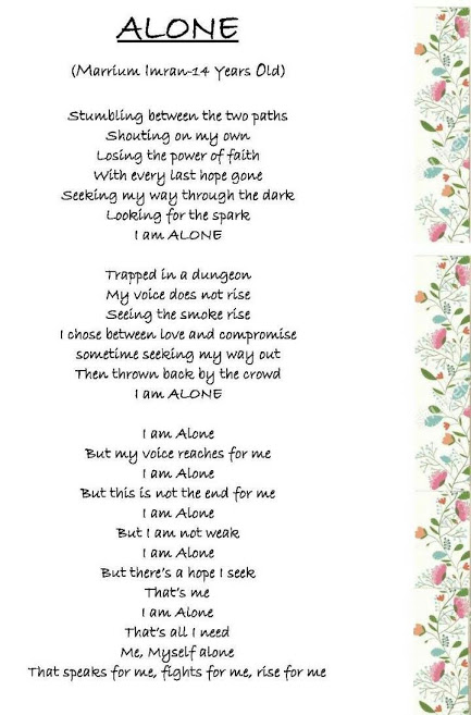 two paths poem